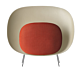 Foscarini Stewie vloerlamp-Rood