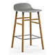 Normann Copenhagen Form Barstool barkruk eiken onderstel Zithoogte 65 cm OUTLET