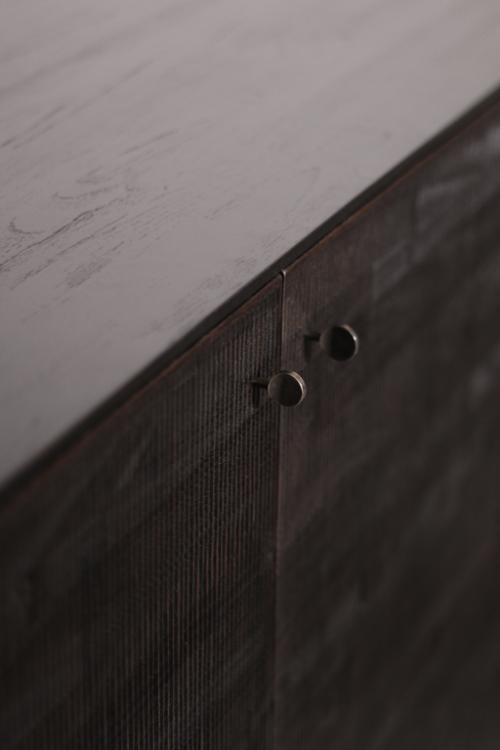 Ethnicraft Teak Grooves Sideboard dressoir-3 deurs