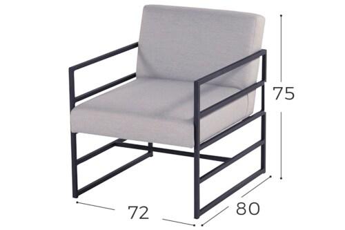 Hartman Amsterdam lounge stoel