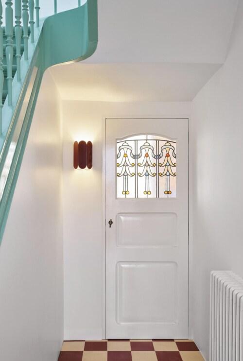 HAY Arcs Scone wandlamp-Sea Green