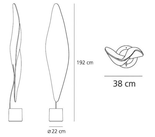 Artemide Cosmic Leaf vloerlamp
