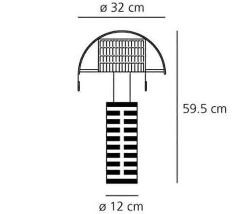 Artemide Shogun tavolo tafellamp
