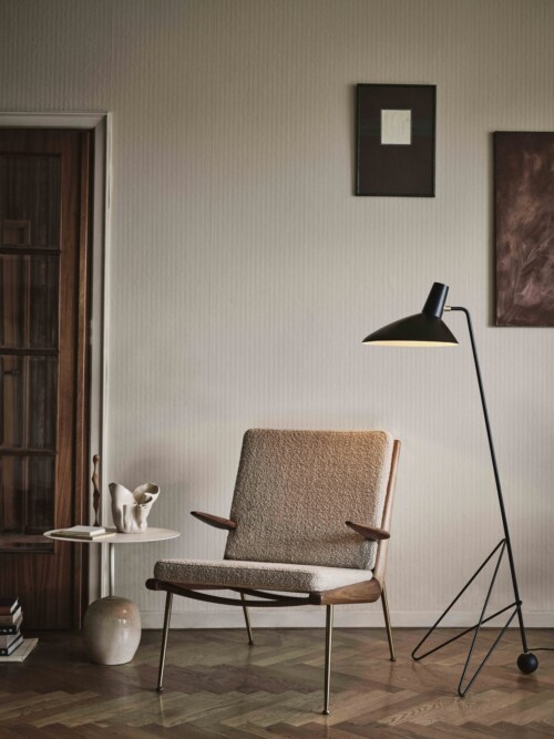 &tradition Tripod HM8 vloerlamp-Zwart