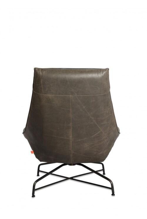 Jess design Beal Old Glory Bonzanza grey Swivel fauteuil