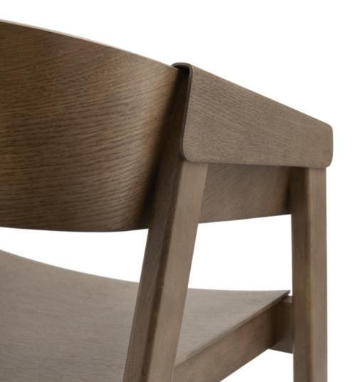muuto Cover stoel-Stained Dark Brown