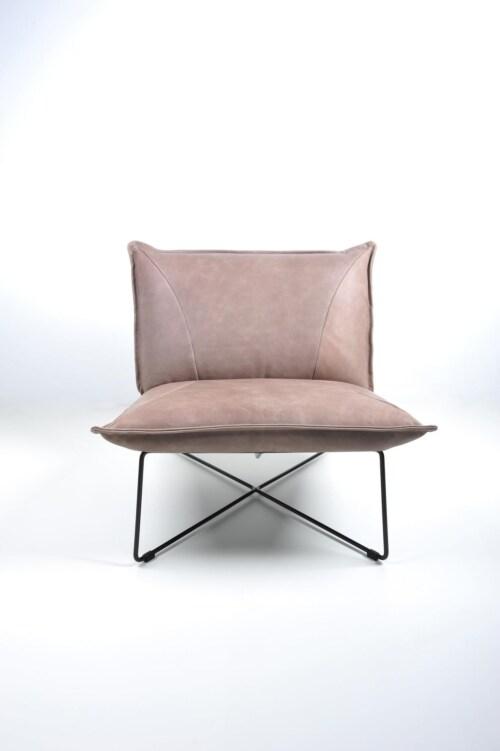 Jess design Earl Laag zonder arm Old Glory Bonanza fauteuil