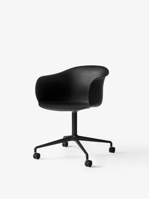 &tradition Elefy JH36 stoel-Zwart-Zwart