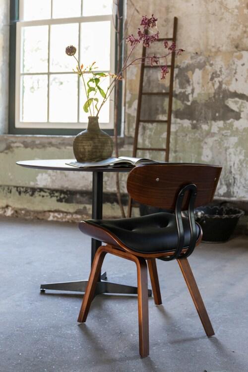 Dutchbone Blackwood walnoot stoel