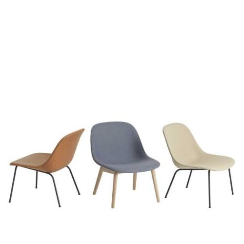 Muuto Fiber Wood fauteuil-Remix 133