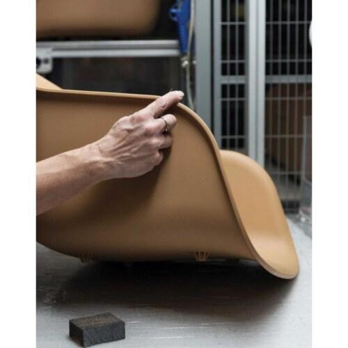 muuto Fiber Wood stoel-wit-eiken