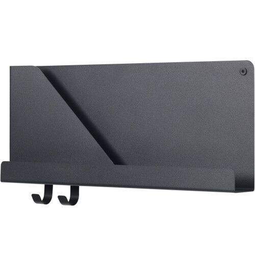 muuto Folded wandplank small-Zwart