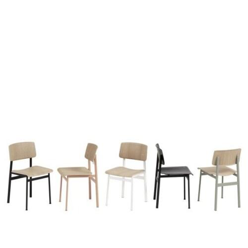 muuto Loft stoel-Eiken-zwart