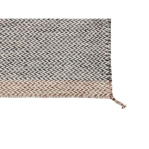 muuto Ply vloerkleed-85x140 cm-Donker grijs