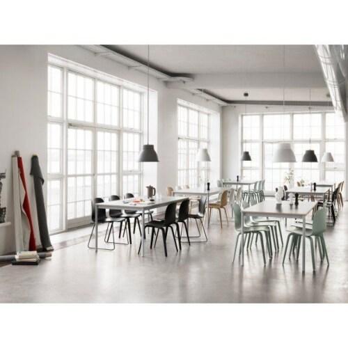 Muuto Base 190x85 tafel-Zwart