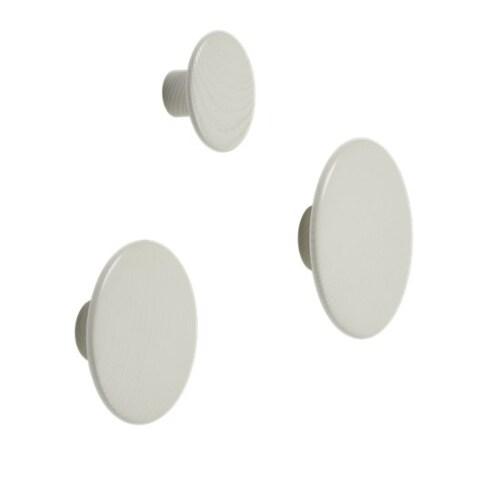 muuto Dots medium wandhaak-Off-white