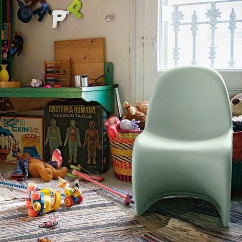 Vitra Panton Junior kinderstoel-Soft mint