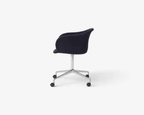 &tradition Elefy JH37 stoel-Marine-Aluminium