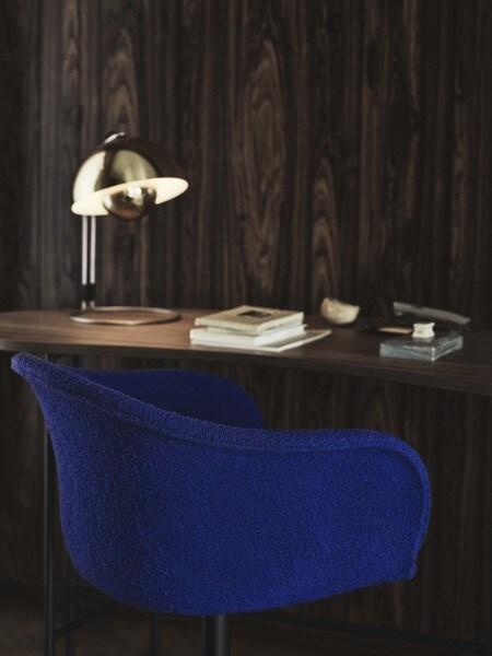 &tradition Elefy JH35 stoel-Licht grijs-Zwart