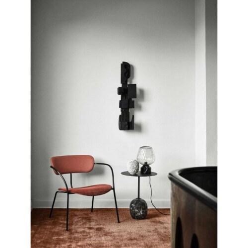&tradition Pavilion AV11 fauteuil-Velvet-blauw