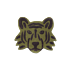 Product afbeelding van: Ferm Living Tufted Tiger Head kleed