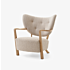 Product afbeelding van: &tradition Wulff ATD2 oiled oak fauteuil
